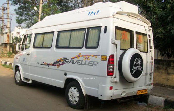 Tempo Traveller rent in Ghaziabad