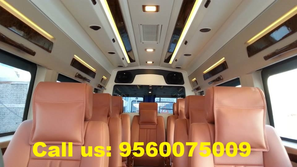 Tempo Traveller rent in noida
